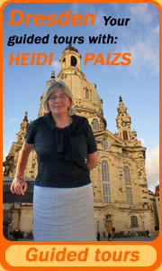 Guided tours in Dresden with Heidi Paizs