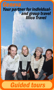 Guided Tours in Geneva with illico Travel